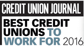 Credit Union Journal Best Credit Unions to Work For 2016